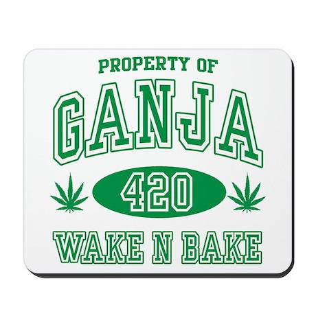 Ganja Legalize It Mousepad