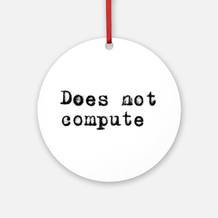 Anti-computer Ornament (Round)