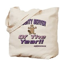 Naughty Beaver Of The Year!! Tote Bag