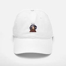 Angel Spotted Doxie Baseball Baseball Cap