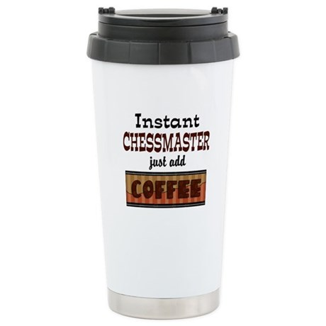 Instant Chessmaster Stainless Steel Travel Mug