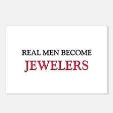 Real Men Become Jewelers Postcards (Package of 8)