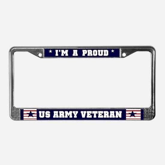Vietnam Veteran License Plate Frame  MilitaryVetsPXcom