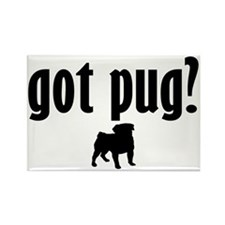 Got Pug? (1) Rectangle Magnet