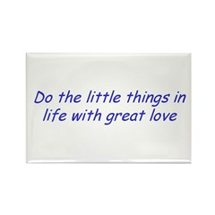 Inspirational Rectangle Magnet