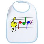 Music Baby Bib