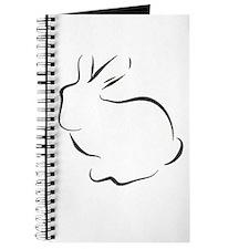 Unique Rabbit drawings Journal