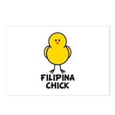 Filipina Chick Postcards (Package of 8)