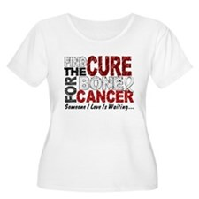Find The Cure 1 BONE CANCER T-Shirt