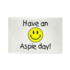 Have An Aspie Day Rectangle Magnet