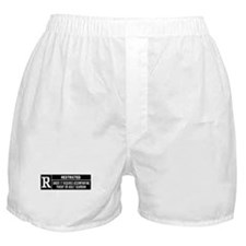 R Rated Boxer Shorts