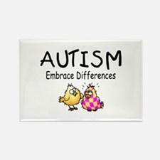 Embrace Difference Rectangle Magnet