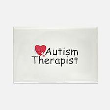 Autism Therapist Rectangle Magnet