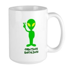 Greetings Earthlings Mug