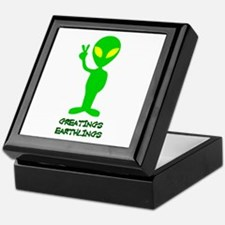 Greetings Earthlings Keepsake Box