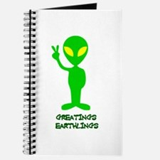 Greetings Earthlings Journal