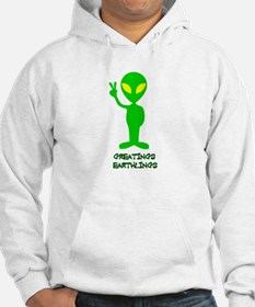 Greetings Earthlings Hoodie