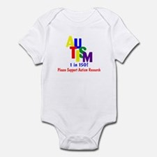 1 in 150 (Support Research) Infant Bodysuit