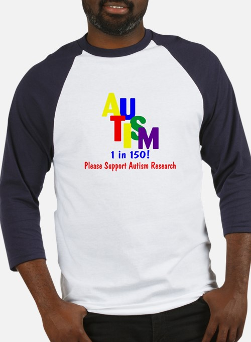 1 in 150 (Support Research) Baseball Jersey