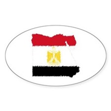 Vintage Egypt Oval Decal