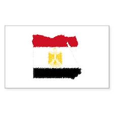 Vintage Egypt Rectangle Sticker 10 pk)