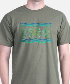 Turtles in Waves T-Shirt