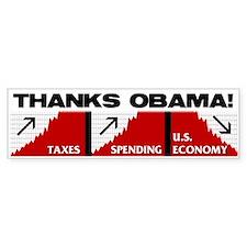 Obama Nomics Bumper Bumper Sticker