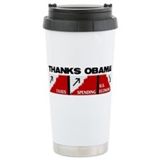 Obama Nomics Travel Mug