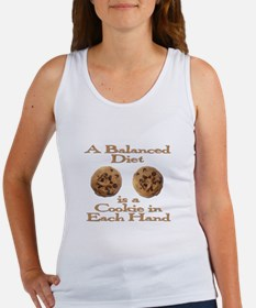 A Balanced Diet . . . Women's Tank Top