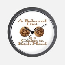A Balanced Diet . . . Wall Clock