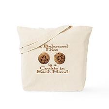 A Balanced Diet . . . Tote Bag
