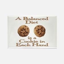 A Balanced Diet . . . Rectangle Magnet