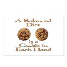 A Balanced Diet . . . Postcards (Package of 8)