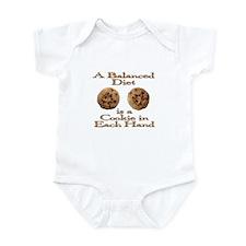 A Balanced Diet . . . Infant Bodysuit