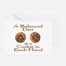A Balanced Diet . . . Greeting Cards (Pk of 20)