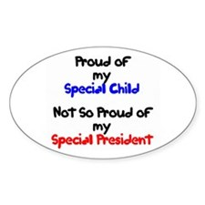 Special Child Proud Oval Decal