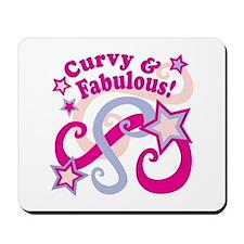 Curvaceous & Fabulous Mousepad