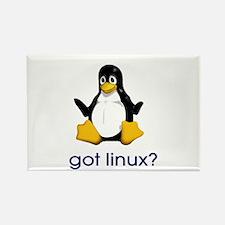 got linux - Rectangle Magnet
