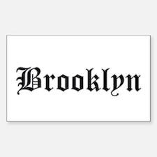 brooklyn - Rectangle Bumper Stickers