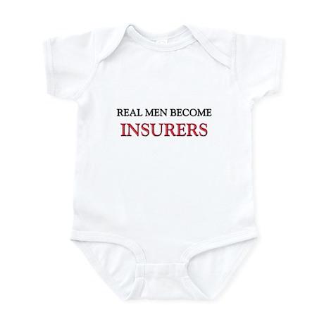 Real Men Become Insurers Infant Bodysuit