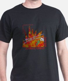 NEW! Separate Church and Hate Black T-Shirt