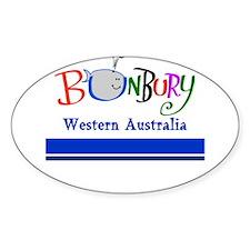 Bunbury Bargain Oval Decal