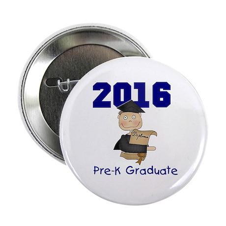 """2013 Boy Pre-K Graduate 2.25"""" Button (100 pac"""