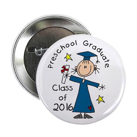 """Girl Pre-K Grad 2014 2.25"""" Button (10 pack)"""