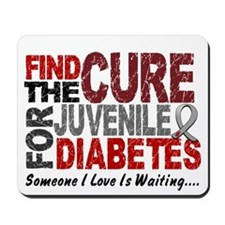 Find The Cure 1 JUV DIABETES Mousepad
