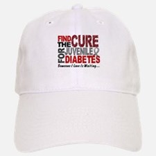 Find The Cure 1 JUV DIABETES Baseball Baseball Cap