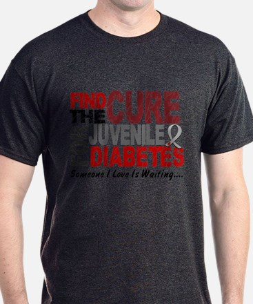 Find The Cure 1 JUV DIABETES T-Shirt