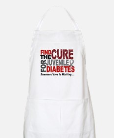 Find The Cure 1 JUV DIABETES BBQ Apron