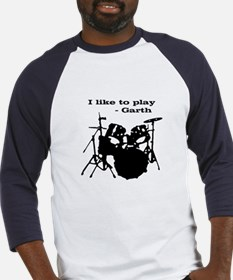 """I Like To Play"" Baseball Jersey"