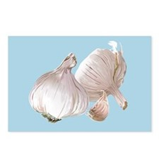 Just Garlic Postcards (Package of 8)